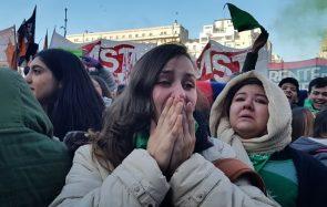 En Argentine, des milliers de femmes manifestent pour le droit à l'IVG