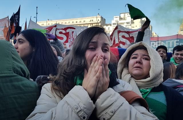 En Argentine, le Sénat vote contre la légalisation de l'avortement