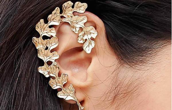 boucle d'oreille unique asos doré