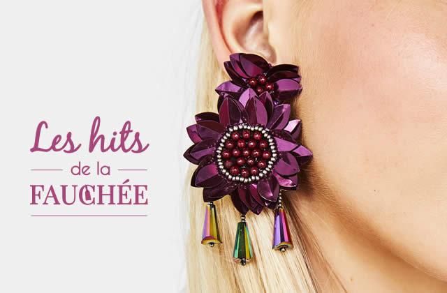 Des boucles d'oreilles inspiration végétale — Les 10 Hits de la Fauchée
