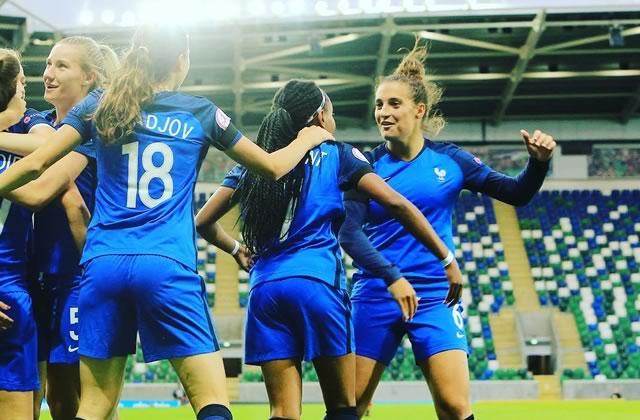 Les Françaises remportent leur quart de final contre la Corée du Nord