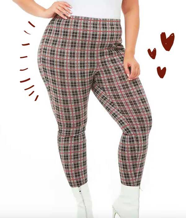 pantalon plus size forever 21