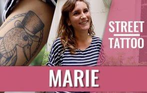 Marie nous fait découvrir ses tatouages d'inspiration marine