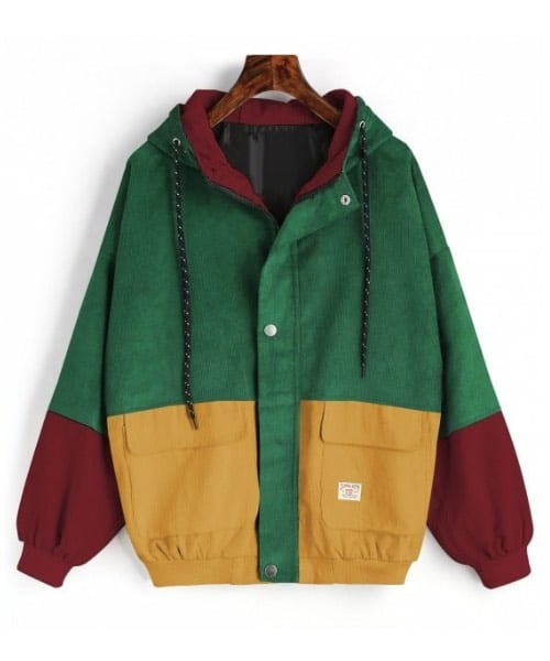 veste color block zaful