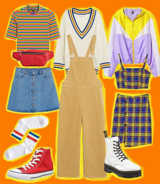 tendance de la rentrée mode années 80/90