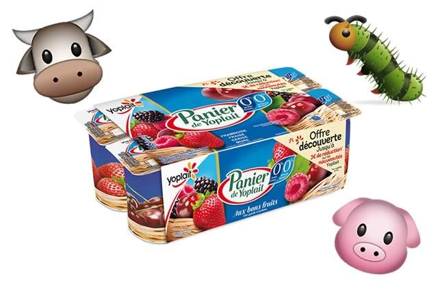 Tous ces aliments qui contiennent des matières animales (sans que tu ne le saches)