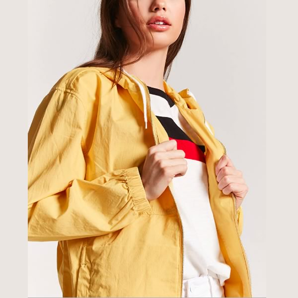 coupe vent jaune forever 21