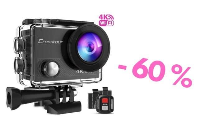 Bon plan : une caméra grand angle (type GoPro) à -60%!