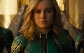 captain marvel injonction sourire
