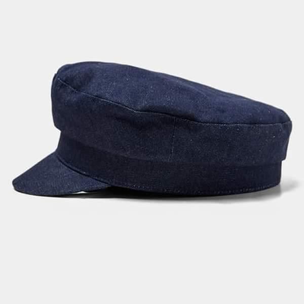 casquette marin en jean zara