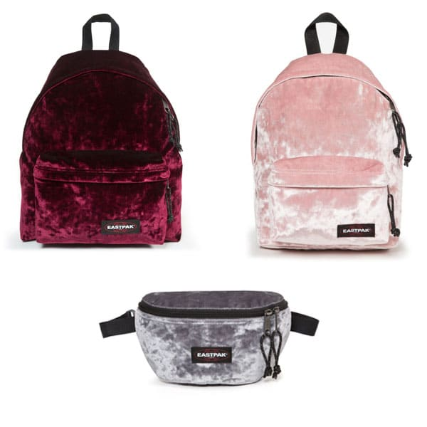 sacs eastpak velours
