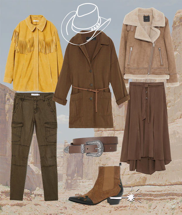 tendance mode cow girl automne/hiver 2018-2019