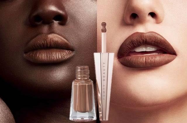 Les nouveaux rouges à lèvres de Rihanna qui vont à tout le monde sont sortis