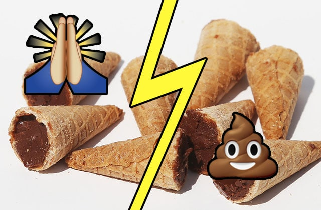 Quelle est la meilleure bouchée du cornet de glace?