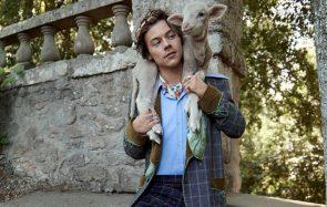 Harry Styles pose avec des bébés cochons, et tu ne sauras pas de qui être jalouse
