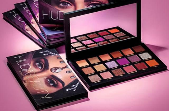 Découvre la nouvelle collection Huda Beauty inspirée des pierres précieuses