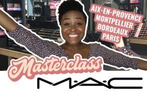 Viens avec moi aux masterclass MAC Cosmetics dans 4 villes de France!