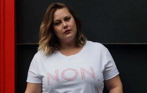 Ces t-shirts à messages s'adressent aux harceleurs de rue