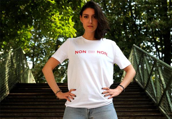 t-shirt non c'est non