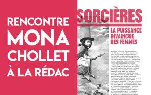 [LIVE] Viens parler des sorcières avec Mona Chollet à la rédac !