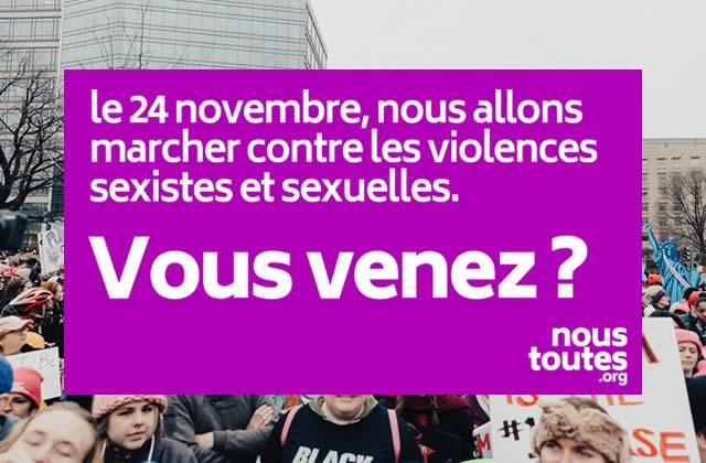 250 personnalités appellent à manifester contre les violences sexistes le 24 novembre