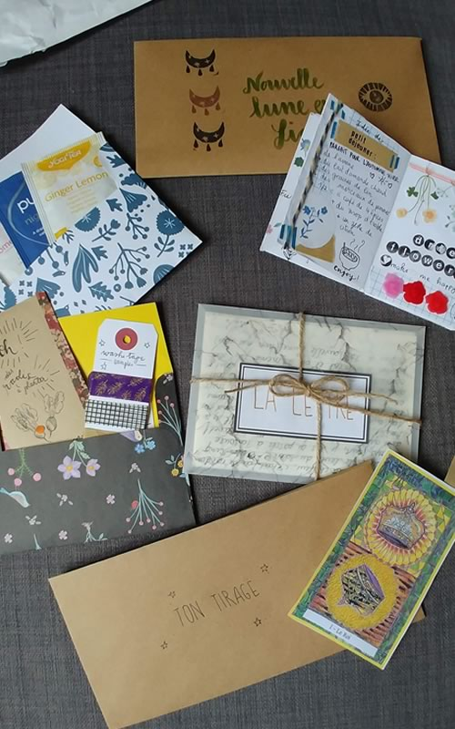 snail mail exemple