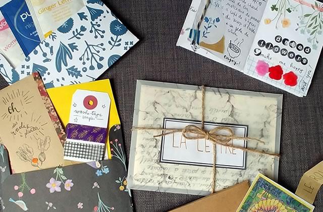 Le Snail Mail Prendre Le Temps Décrire Des Lettres Décorées