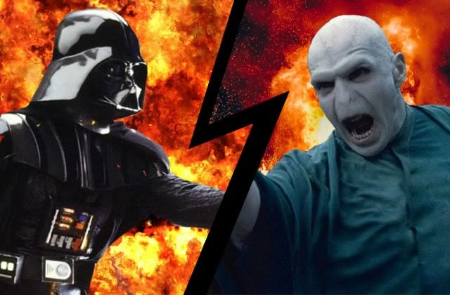 Le résultat du 1er procès des grands méchants:Voldemort VS Dark Vador!