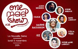 [ONE MAD SHOW] Sophie-Marie Larrouy, Charlie & KIZ à la Nouvelle Seine en novembre