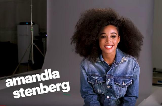 Amandla Stenberg assume ses poils sur le tapis rouge!