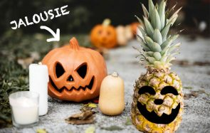 Ananas is the new citrouille ! Vas-tu adopter cette tendance déco d'Halloween ?