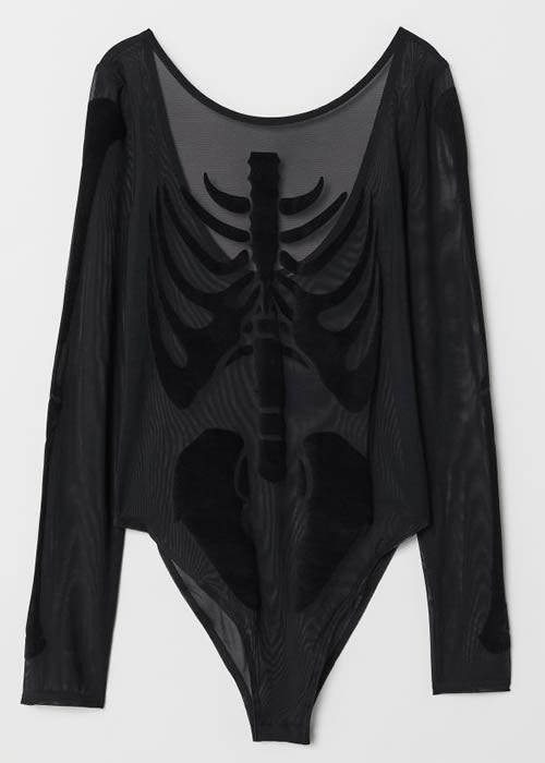 body squelette H&M