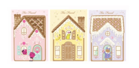 gingerbread lane set palettes too faced