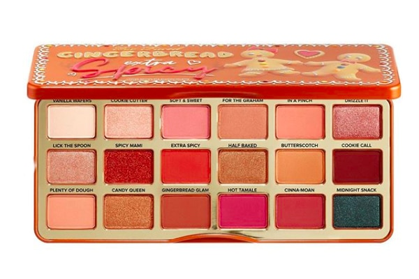 palette gingerbread extra spicy Too Faced