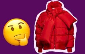Les 5 doudounes de créateurs les plus chelou de l'hiver