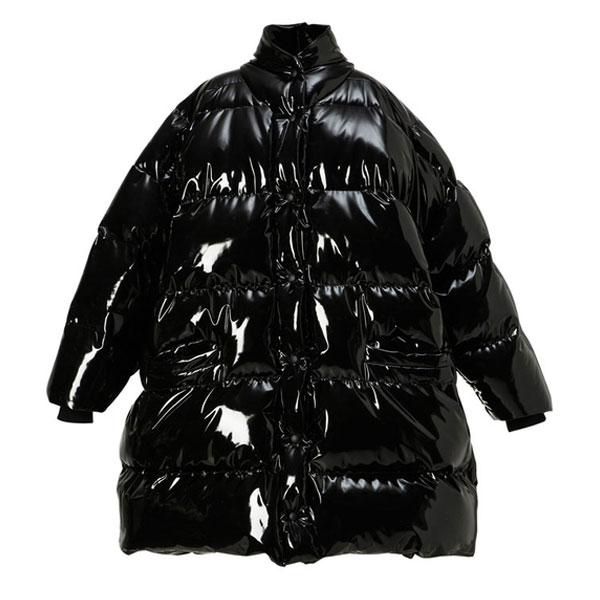 doudoune oversize noire femme