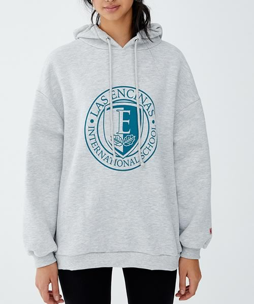 sweat-shirt à capuche Elite Netflix chez Pull & Bear