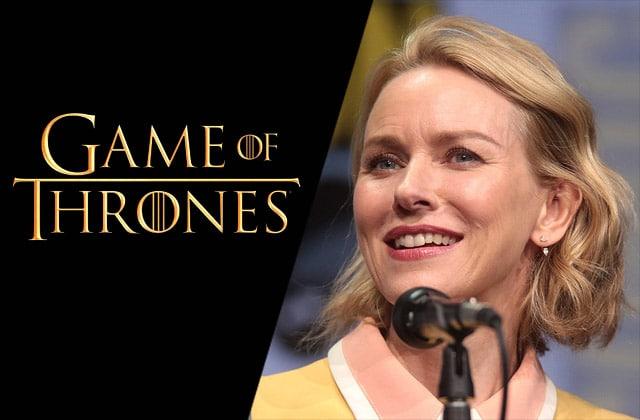 Naomi Watts dans le préquel de Game of Thrones:qui pourrait-elle incarner?