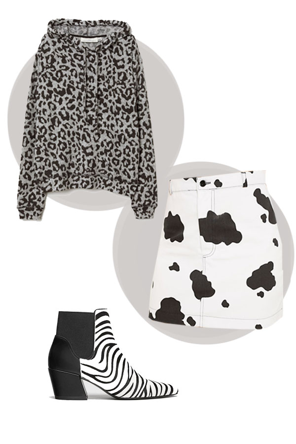 look casual leopard