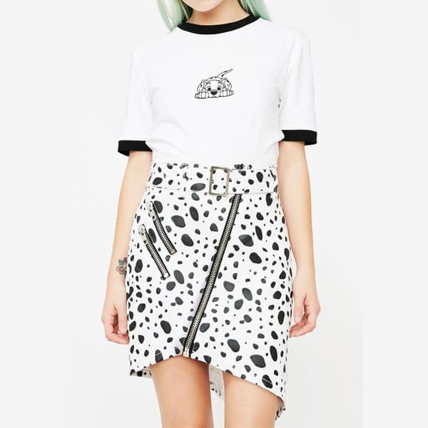 jupe dalmatien femme
