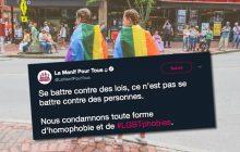 Eh si, la Manif pour Tous, ce que vous défendez, c'est de l'homophobie