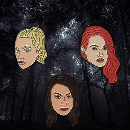 Pins Riverdale Betty, Cherry, Veronica