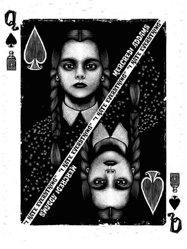 affiche famille addams