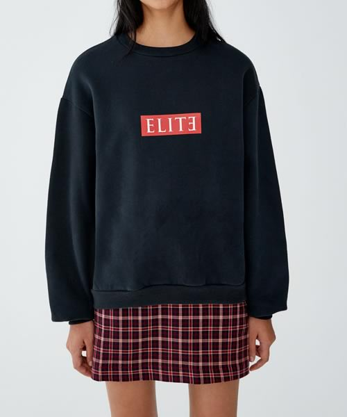 sweat-shirt Elite Netflix chez Pull & Bear