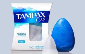 Tampax lance sa coupe menstruelle