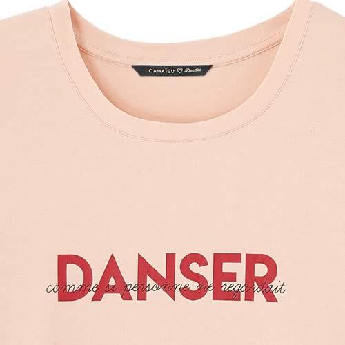 t-shirt camaieu deedee danser
