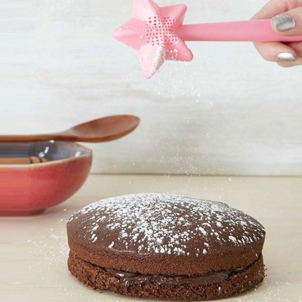 baguette magique saupoudreuse gâteau