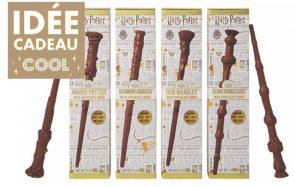 Les baguettes Harry Potter en chocolat, une idée cadeau magique