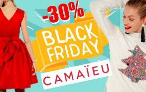 -30% sur tout le site Camaïeu pendant le Black Friday