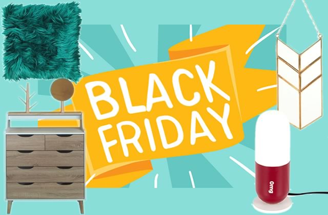 Black Friday 2018 : les bons plans déco !